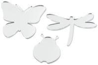 Miroirs adhésifs insectes - Set de 6 - Miroirs - 10doigts.fr