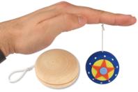 Yo-Yo en bois naturel - Divers - 10doigts.fr