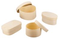 Boîtes en bois à décorer