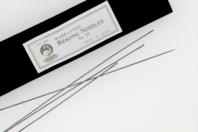 Set de 6 aiguilles souples pour perler, avec chas fin - Fermoirs - 10doigts.fr