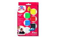 Fimo Kids - 6 couleurs basiques - Fimo Kids - 10doigts.fr