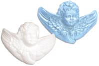 Angelot en polystyrène 12,5 x 9 cm - Formes de fêtes - 10doigts.fr