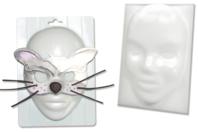Gabarit pour créer des masques ou des loups - Moules thermoformés - 10doigts.fr
