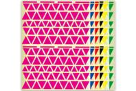 Maxi set de gommettes Triangles - Gommettes géométriques - 10doigts.fr