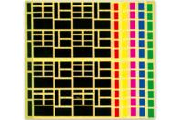 Maxi set de gommettes rectangles - Gommettes géométriques - 10doigts.fr