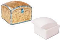 Boîte carrée en polystyrène - Formes Polystyrène - 10doigts.fr