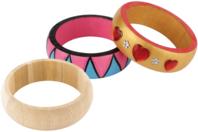 Bracelet en bois - 2 tailles au choix - Divers - 10doigts.fr