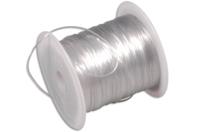 Fil nylon élastique - 12 mètres - Nylon - 10doigts.fr