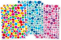 Gommettes mosaïques fantaisie - 300 ou 900 pièces - Gommettes fantaisie - 10doigts.fr