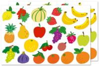 Gommettes fruits - Gommettes fantaisie - 10doigts.fr