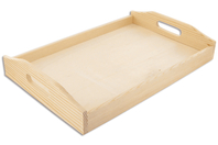 Plateau rectangulaire en bois - Dimensions au choix - Plateaux en bois - 10doigts.fr