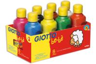 Gouaches Giotto Bé-bé - Set de 8 couleurs - Gouaches GIOTTO - 10doigts.fr