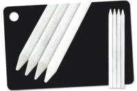 """Crayons blancs """"Concentré de craie"""" - Craies - 10doigts.fr"""