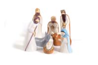 Moules pour crèche de Noël - 8 pièces - Moules de fêtes - 10doigts.fr