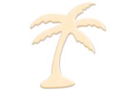 Palmier en bois naturel - Motifs brut - 10doigts.fr
