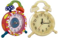 Horloge Art Déco en bois - Horloges - 10doigts.fr