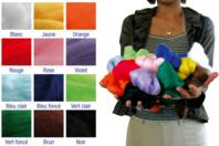 Laine à feutrer extra fine, 12 couleurs assorties - Laine - 10doigts.fr