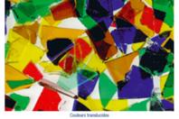 Mosaïques en verre, couleurs transparentes - 200 gr - Mosaïques verre - 10doigts.fr