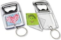 Porte-clés décapsuleur - Lot de 5 - Plastique Transparent - 10doigts.fr