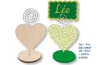 Clip Mémo coeur à spirale - Mémos et magnets - 10doigts.fr