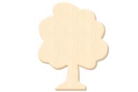 Arbre en bois naturel - Motifs brut - 10doigts.fr