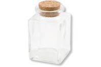 Petits bocaux à épices en verre - Lot de 4 - Verre - 10doigts.fr