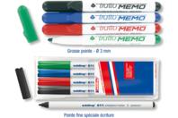 Marqueurs effaçables à sec - Set de 4 couleurs - Marqueurs - 10doigts.fr
