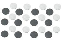 Aimants ronds adhésifs - Lot de 25 - Aimants - 10doigts.fr