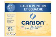 Papier Canson pour peinture - 6 feuilles - Nouveautés - 10doigts.fr