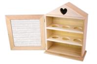 Armoire à oeufs maison - hauteur 26 cm - Cuisine et vaisselle - 10doigts.fr
