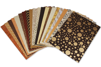 Papiers Indiens,Collection Rajastha, - 20 feuilles artisanales - Papier artisanal naturel - 10doigts.fr