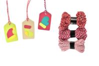 Ficelles Bicolores - Set de 3 couleurs - Rubans - 10doigts.fr
