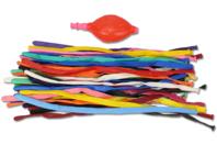 Ballons à modeler - Set de 40 ballons + 1 pompe - Ballons, guirlandes, serpentins - 10doigts.fr
