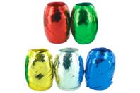 Bobines de bolduc brillant métallisé - Set de 5 - Rubans et adhésifs - 10doigts.fr