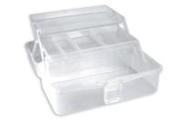 Boîte de rangement en plastique - Palettes et rangements - 10doigts.fr