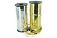 Bobine de bolduc brillant métallisé - or ou argent - Rubans et ficelles - 10doigts.fr