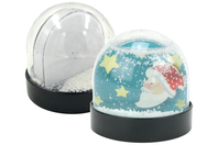 Globe boule à neige à décorer - Décoration de Noël - 10doigts.fr