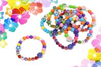 Kit fabrication bracelets Ohana - Kits bijoux - 10doigts.fr