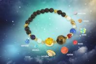 Kit bracelet Système solaire - Lithothérapie / Bracelets chakras - 10doigts.fr