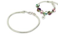 Bracelet en métal pour perles à large trou - Bracelets - 10doigts.fr