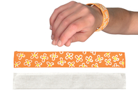 "Bracelet enrouleur ""Snap On"" - Support textile à customiser - 10doigts.fr"
