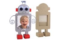 Robots cadre photo - Lot de 4 - Cadres photos - 10doigts.fr