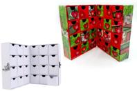 Meuble de rangement, en carton blanc, en forme de livre - Boîtes - 10doigts.fr