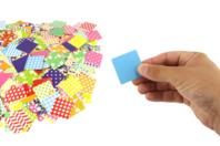 Mosaiques XXL en carte forte brillante -1000 pièces - Mosaïques papiers - 10doigts.fr