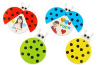 Cartes coccinelles mobiles - 6 couleurs assorties - Kits créatifs prêt à l'emploi - 10doigts.fr