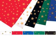 Cartes étoilées, 5 couleurs assorties - Set de 10 - Décorations Noël - 10doigts.fr