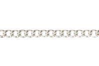 Chaîne petit maillon argent - 1 m - Chaînes bijoux - 10doigts.fr