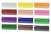 Chenilles à la couleur - Lot de 50 - Chenilles, cure-pipe - 10doigts.fr