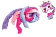 Cheveux licorne - Mardi gras, carnaval - 10doigts.fr