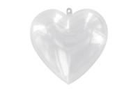 Cœur en plastique transparent 3 en 1 à suspendre - Meilleures ventes - 10doigts.fr